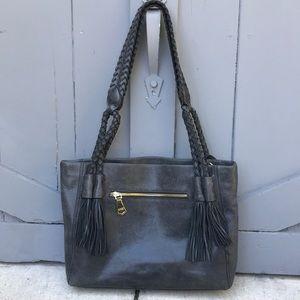 Aimee Kestenberg Braided Leather Bag